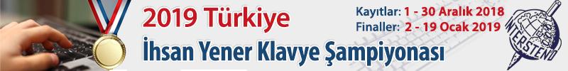 2019 Türkiye İhsan Yener Klavye Şampiyonası