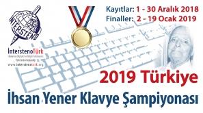 2019 Türkiye İhsan Yener Klavye Şampiyonası Başlıyor