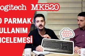 Logitech MK520 Klavye İncelemesi – 10 Parmak için Uygun mu?